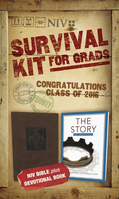 2016 Survival Kit For Grads, NIV (Paperback)