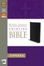 KJV Thinline Zippered Collection Bible (Hard Cover)