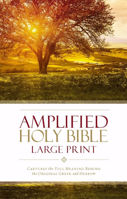 Amplified Holy Bible, Large Print (Hard Cover)
