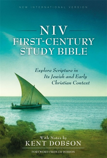 NIV First-Century Study Bible (Hard Cover)