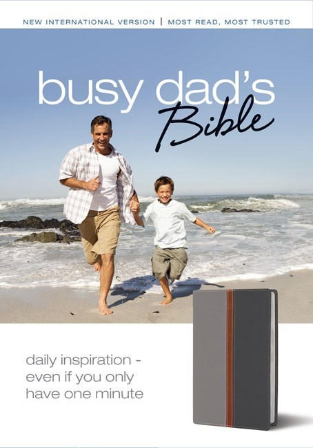 Busy Dad's Bible (Leather-Look)