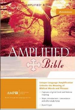 Amplified Bible Indexed, Burgundy (Bonded Leather)