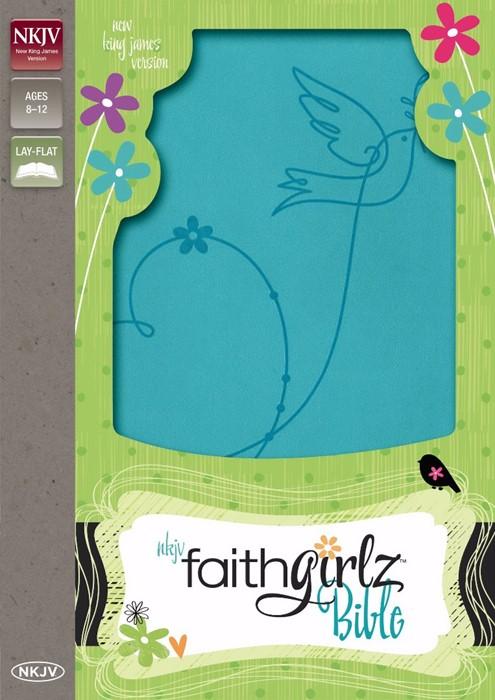 NKJV Faithgirlz Bible (Leather Binding)