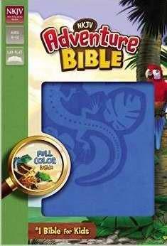 NKJV Adventure Bible (Leather Binding)
