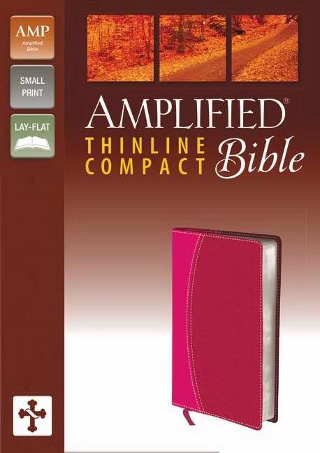 Amplified Thinline Bible Compact Magenta/Razzleberry (Imitation Leather)