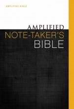 Amplified Note-Taker's Bible (Hard Cover)