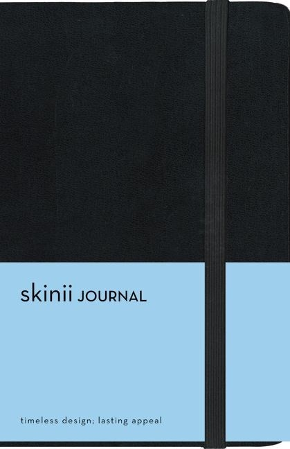 Skinii Journal, Compact, Black