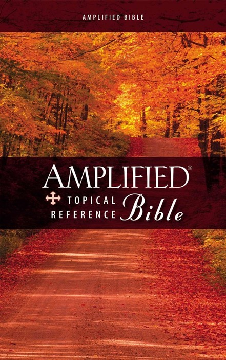 Amplified Topical Reference Bible (Hard Cover)