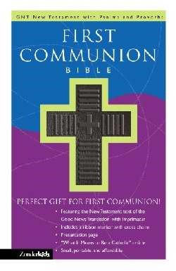 First Communion Bible (Leather Binding)