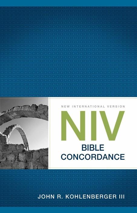 NIV Bible Concordance (Paperback)