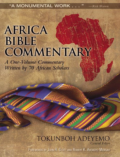 Africa Bible Commentary (Hard Cover)