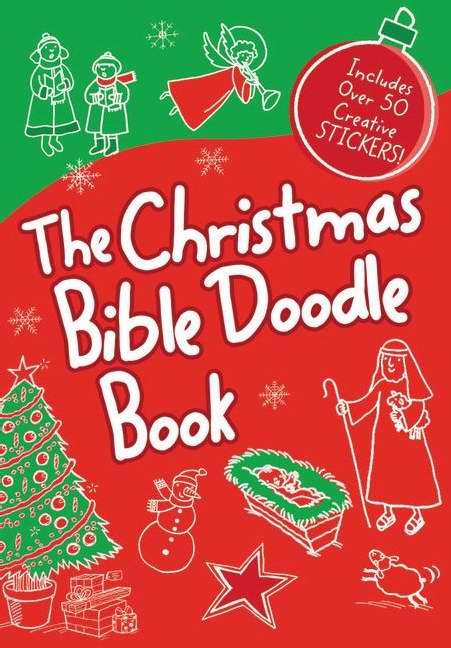 The Christmas Bible Doodle Book