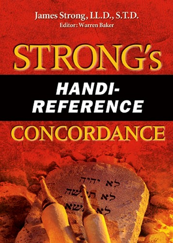 Strong'S Handi-Reference Concordance (Paperback)