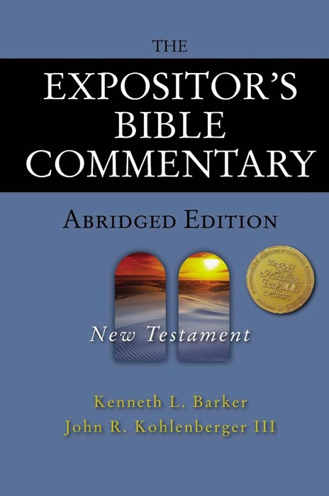 Expositor's Bible Commentary - Abridged Edition: New Tes, T (Hard Cover)