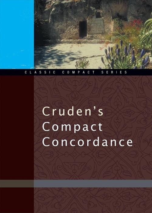 Cruden's Compact Concordance (Paperback)