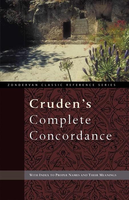 Cruden's Complete Concordance (Paperback)