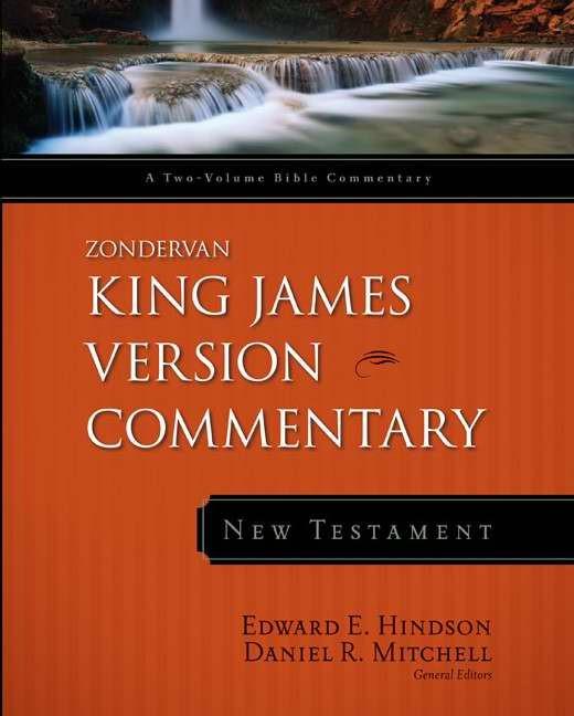 KJV Zondervan Commentary---New Testament (Hard Cover)