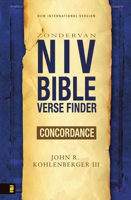 NIV Bible Verse Finder (Paperback)
