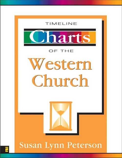 Timeline Charts of the Western Church (Paperback)