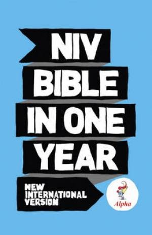 NIV Alpha Bible In One Year Hardback (Hard Cover)