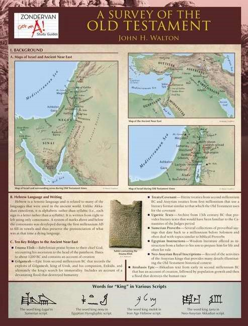 Survey Of The Old Testament Laminated Sheet, A (Other Book Format)