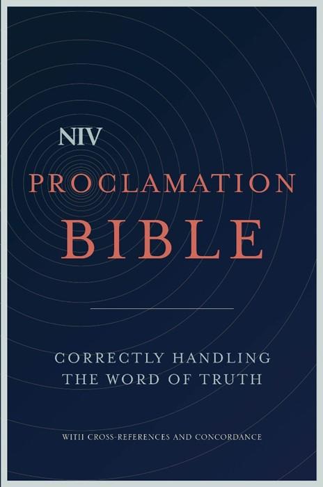 NIV Proclamation Bible (Hard Cover)