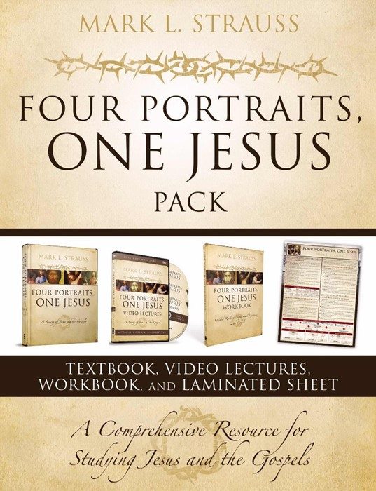 Four Portraits, One Jesus Pack (Paperback)