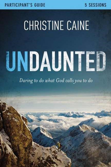 Undaunted Study Guide With DVD (Paperback w/DVD)