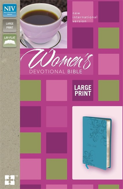 NIV Women's Devotional Bible (Large Print)