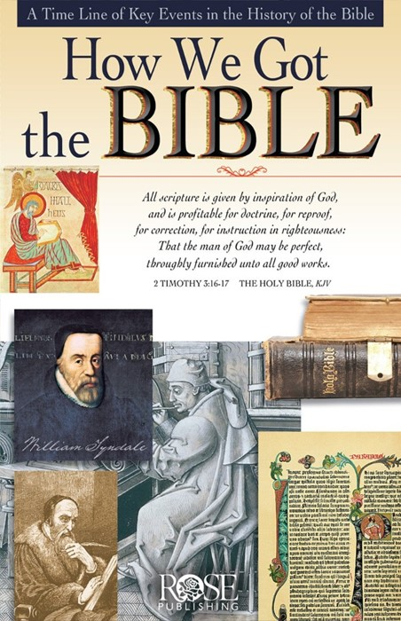 How We Got The Bible (Pamphlet)