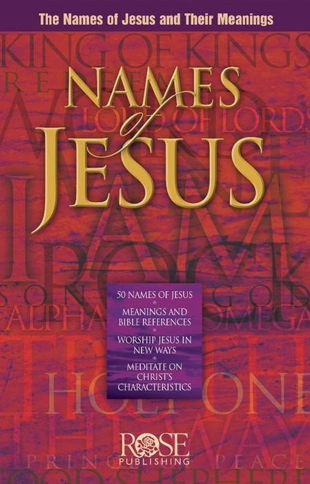 Names Of Jesus (Pamphlet)