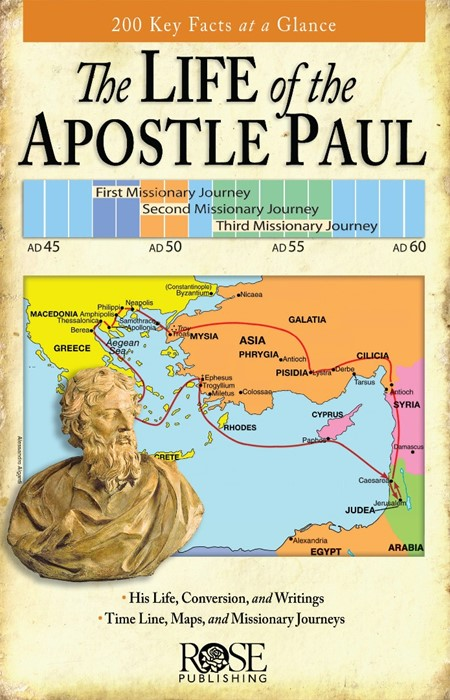 Life Of Apostle Paul (Pamphlet)