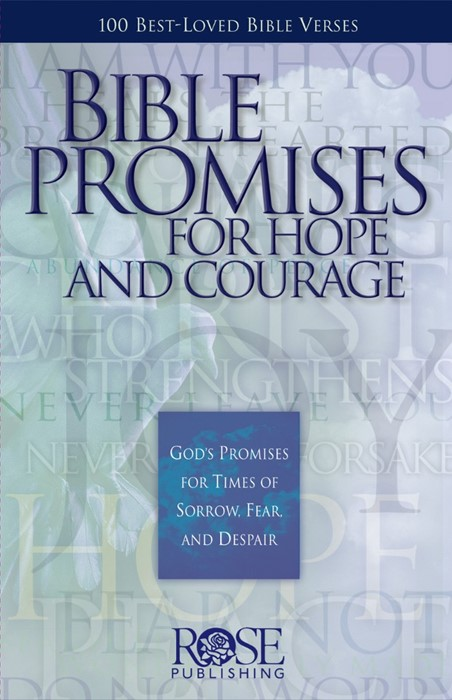 Bible Promises For Hope And Courage (Pamphlet)