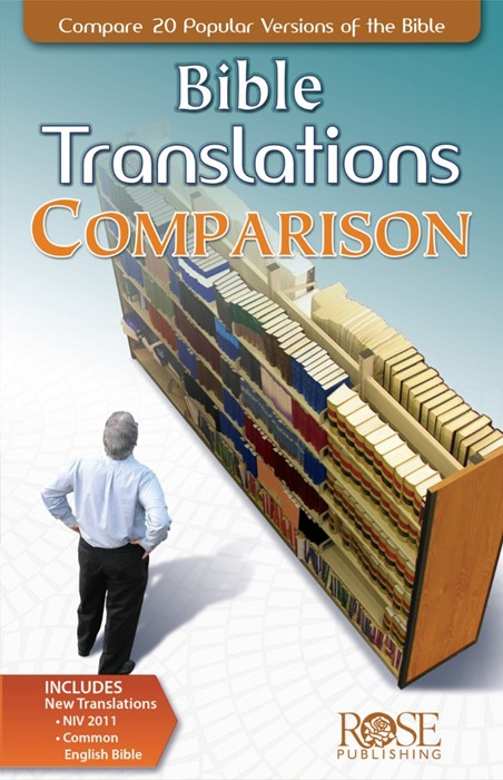 Bible Translations Comparison (Pamphlet)