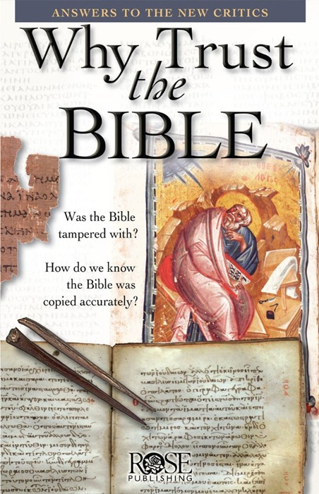 Why Trust The Bible (Pamphlet)
