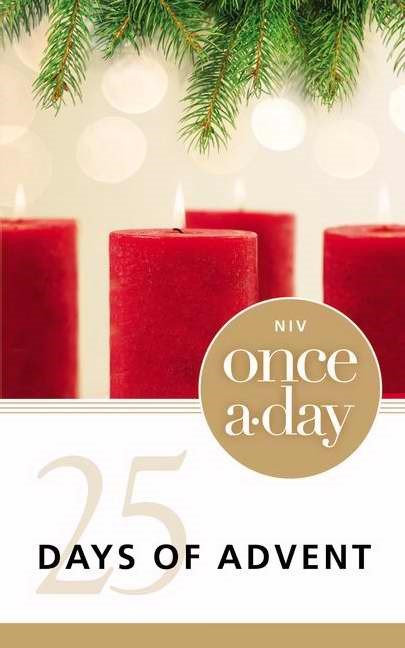 Once-A-Day 25 Days Of Advent Devotional (Paperback)