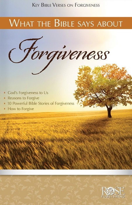 What The Bible Says About Forgiveness (Pamphlet)