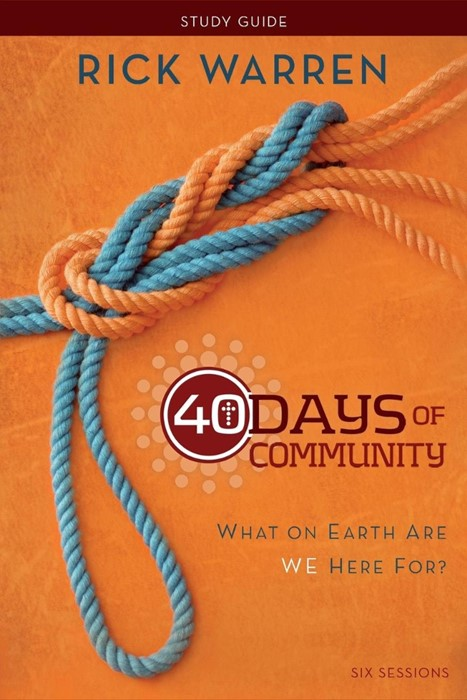 40 Days Of Community Study Guide (Paperback)