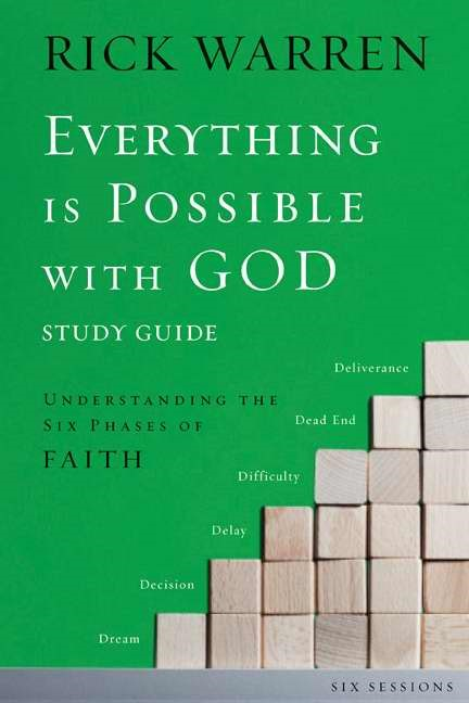 Everything Is Possible With God Participant's Guide With DVD (Paperback w/DVD)