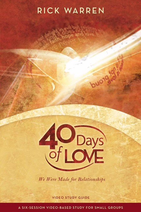 40 Days Of Love Study Guide (Paperback)