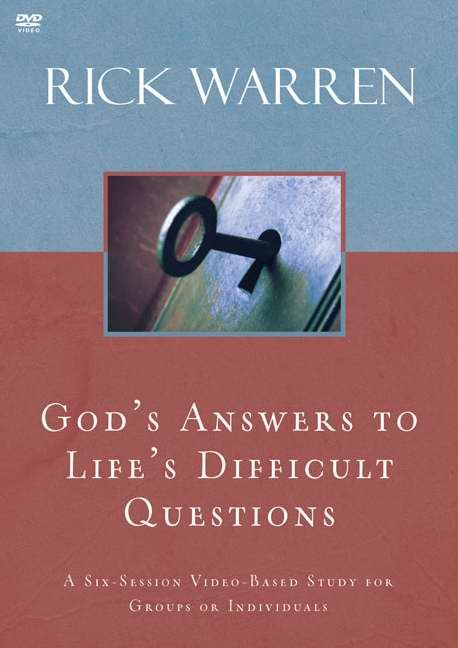 God's Answers To Life's Difficult Questions DVD (DVD)