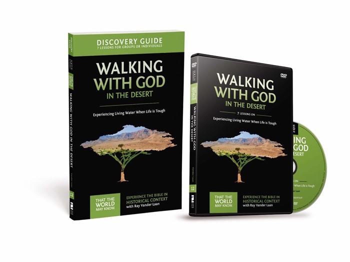 Walking With God In The Desert Discovery Guide With Dvd (Mixed Media Product)