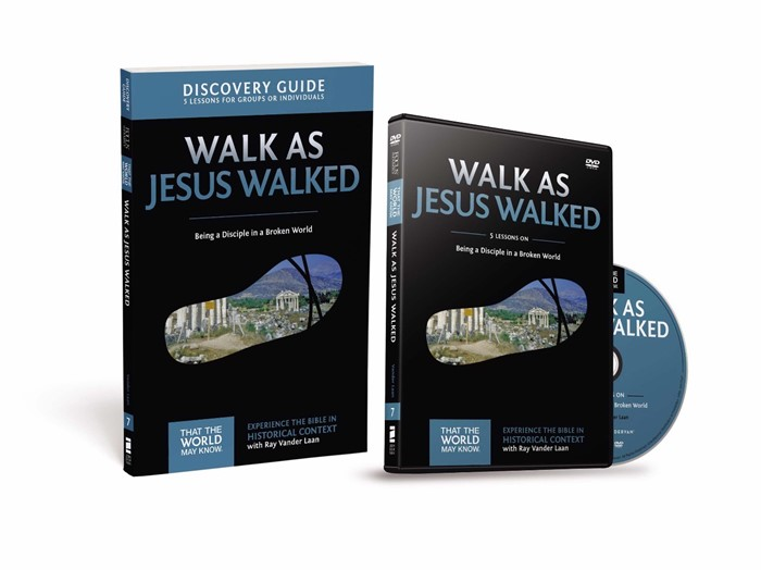 Walk As Jesus Walked Discovery Guide With DVD (Paperback w/DVD)