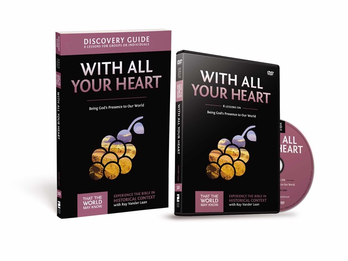 With All Your Heart Discovery Guide With DVD (Paperback w/DVD)