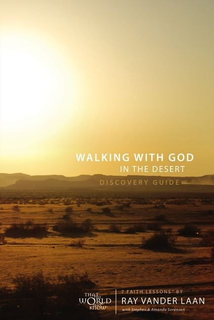 Walking With God In The Desert Discovery Guide With Dvd (Paperback)