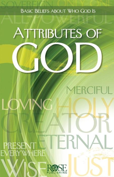 Attributes Of God (Pamphlet)