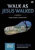 Walk As Jesus Walked: A Dvd Study (DVD)