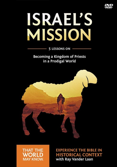 Israel's Mission Discovery Guide With DVD (Paperback w/DVD)