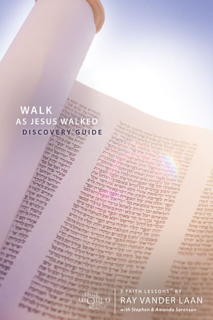 Walk As Jesus Walked Discovery Guide With Dvd (Paperback)