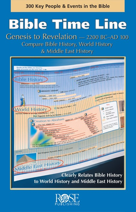Bible Time Line (Pamphlet)